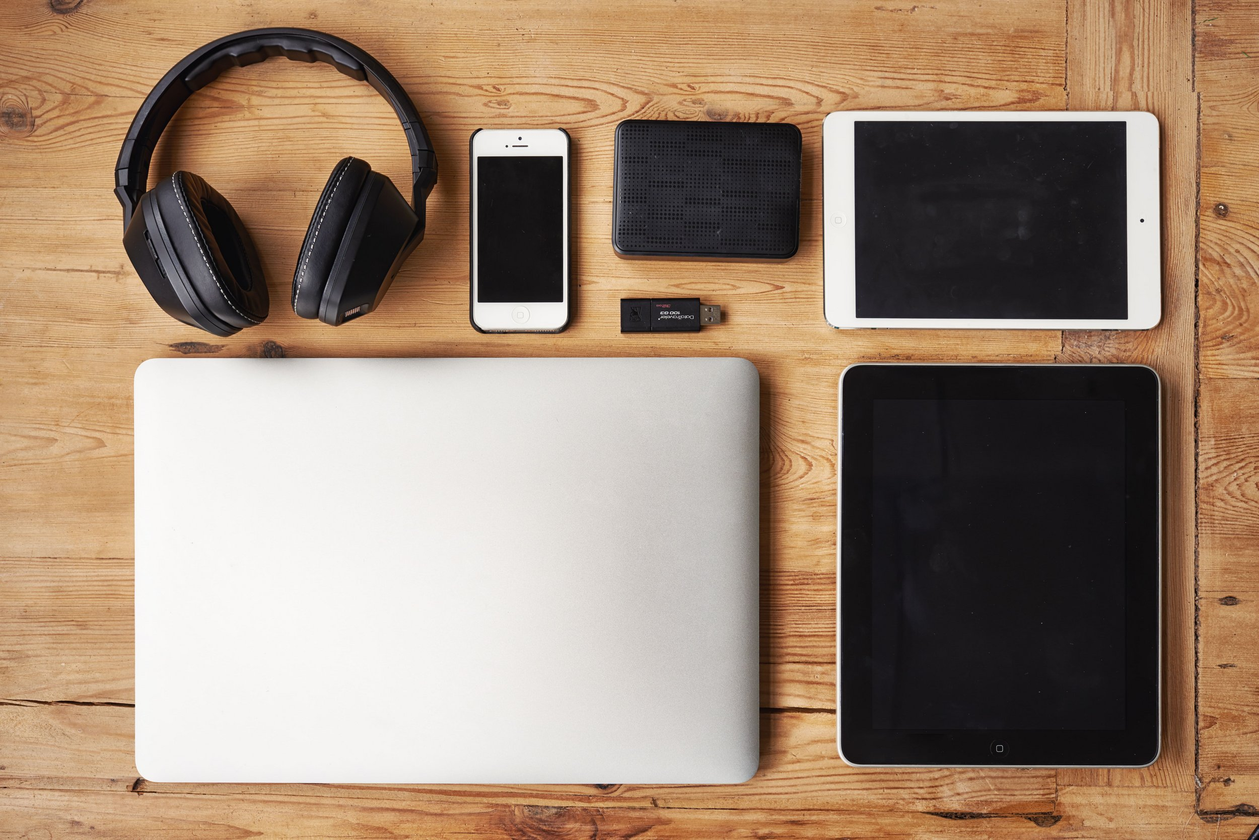 Collection of electronic devices